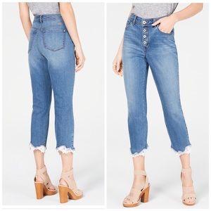 I.N.C. Skinny Leg Cropped Jeans
